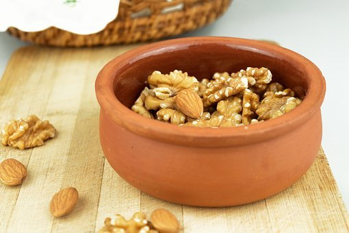Walnut, Almond, Dried Fruits And Nuts, Nuts, Food