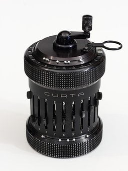 Curta, Mechanical, Calculator, Liechtenstein, Mechanic