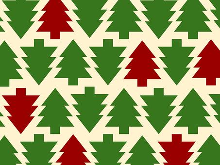 Background, Christmas, Christmas Trees, Holiday