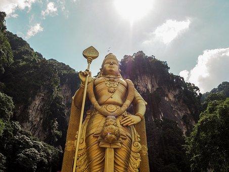 Kuala Lumpur, Batu Caves, Malaysia, Hindus, Travel