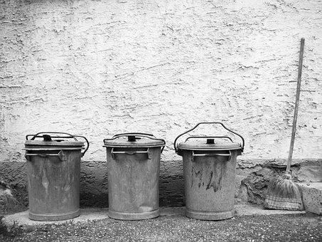 Garbage, Garbage Can, Dustbin, Waste, Waste Disposal
