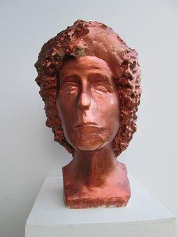 Art, Fineart, Statue, Figurative, Head, Buste