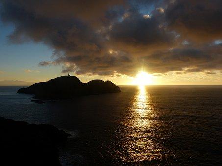Portosanto, Sunset, Abendstimmung