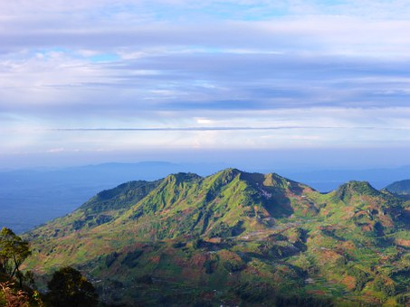 Indonesia, Mountain, Landscape, Nature, Travel