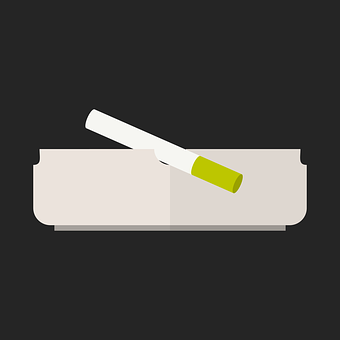 Ashtray, Cigarette, Smoking, Lung, Filter, Tobacco