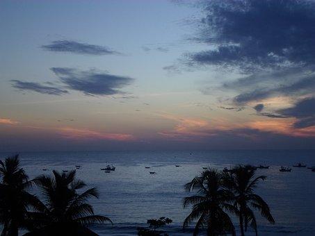 Beach, Sunrise, Sunset, Beautiful Beach, Sand Beach