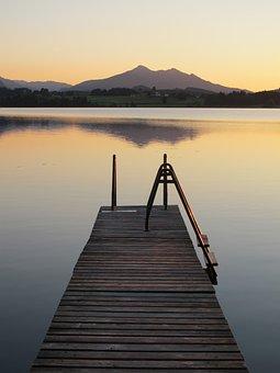 Boardwalk, Pfrontner Mountains, Hop On The Lake