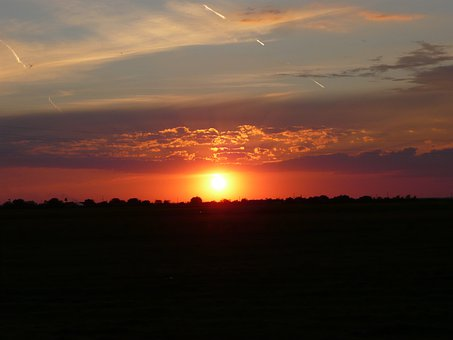 Lying, Sunset, Clouds, Nature, Sky, Transsylvania
