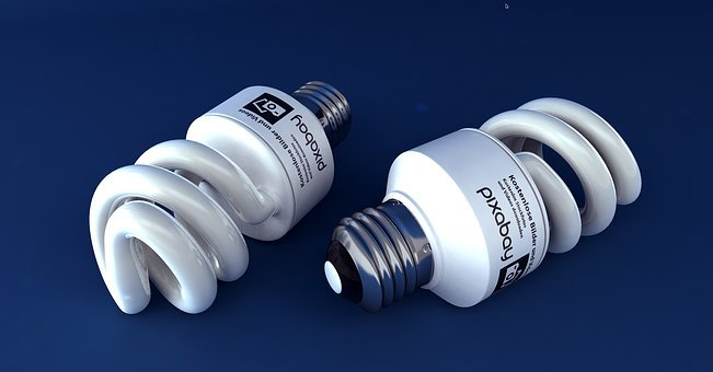 Sparlampe, Energy Saving, Bulbs, Pear, Version, Thread