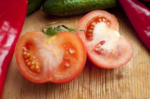 Red, Tomato, Fresh, Food, Healthy, Vegetable, Organic