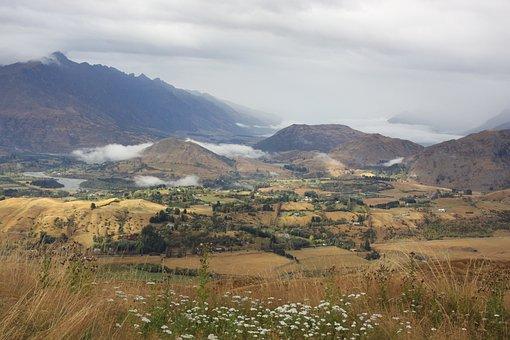 Landscape, Queenstown, New Zealand, South Island