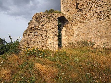 Old Goal 1000 Years, Castle, Castle Ruin Of Arnstein