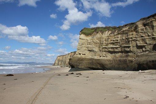 Beach, Half Moon Bay, Ca, Ocean, Sand, Beaches, Coast