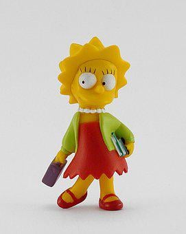 Toy, Simpsons, Liza, Snowman, Doll