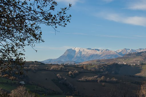 Mount Carrier, Snow, Mountains, Earthquake, Sky, Winter