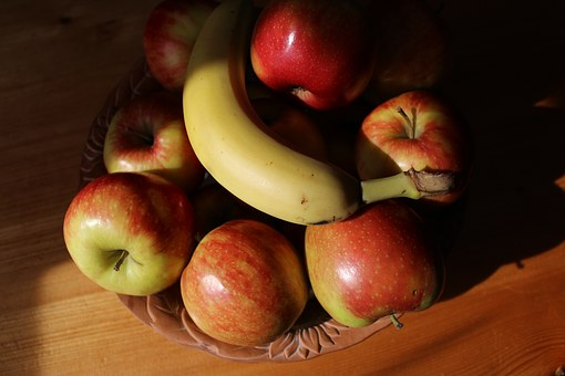Still Life, Apple, Fruit, Fruit Bowl, Fruits, Banana