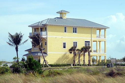 Multi Family, Beach Home, Florida, Usa, Architecture
