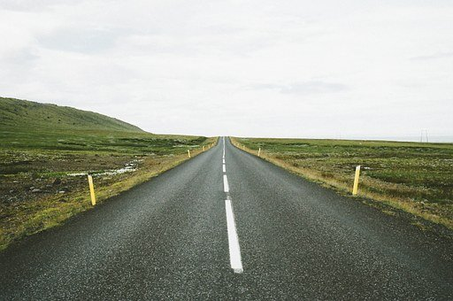 Highway, Road, Markers, Travel, Journey, Asphalt