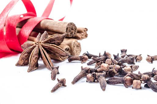 Cinnamon, Clove, Background, Aniseed, Stick, Decoration