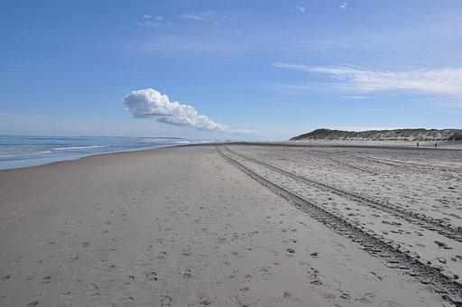 Beach, Dunes, Dune, Marram Grass, Sand, Netherlands