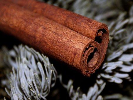 Cinnamon Stick, Cinnamon, Brown, Fir, Advent, Christmas