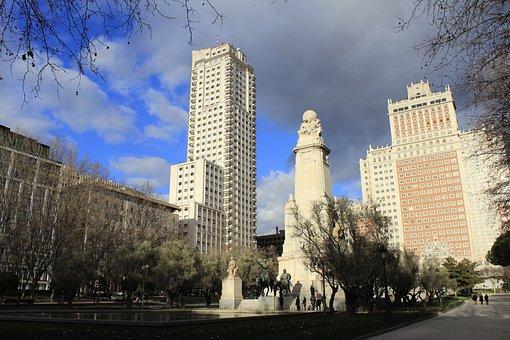 Madrid, Spain, Landscapes, Capital, Monument