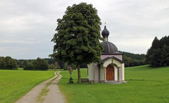 Wayside Chapel, Chapel, House Of Prayer, Nature, Away