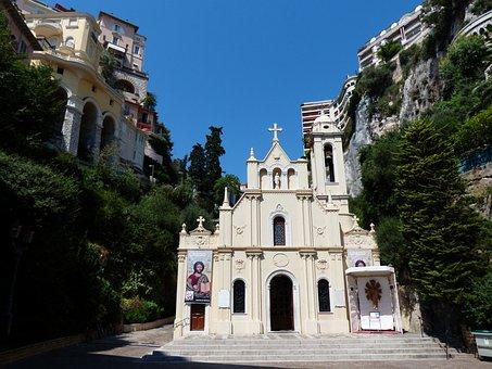 Church, Chapel, House Of Prayer, Christianity, Monaco