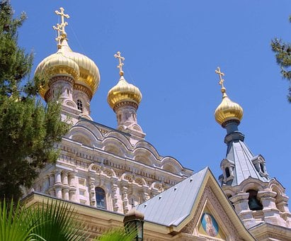 Church, Russian Orthodox, Architecture, Religion