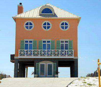 Florida, Beach Home, House, Real Estate, Coastline