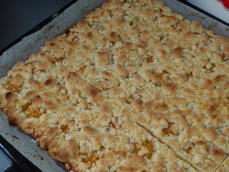Streusel Cake, Cake, Dough, Eat, Food, Coffee Party