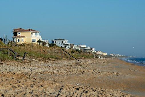 Beach Home, House, Real Estate, Florida, Usa, Estate
