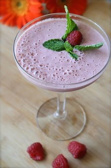 Smoothie, Raspberry, Food, Healthy, Fruit, Fresh