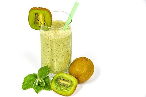 Kiwi Coctail, Kefir, Fruit, Kiwi, Food, Healthy, Health
