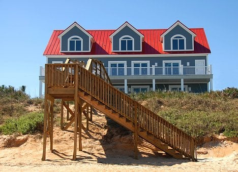 Beach Front, House, Home, Property, New, Construction