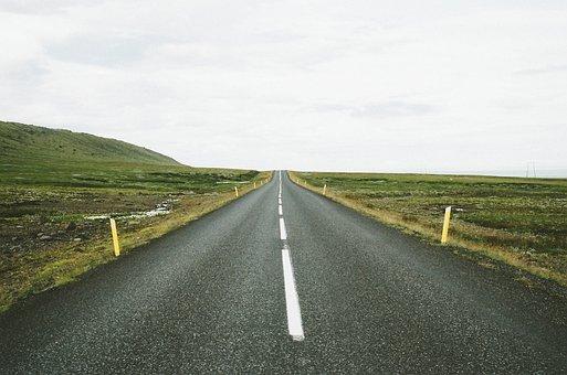 Highway, Road, Markers, Travel, Journey, Asphalt