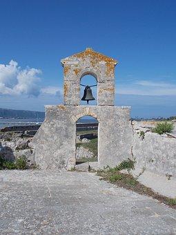 Church, Blue Sky, Stones, Old, Landscape, Landmark