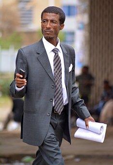 African, Business, Man, Black, Male, Business Men