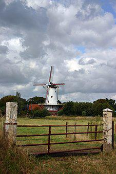 Mill, Holland, Netherlands, Windmill, Agriculture