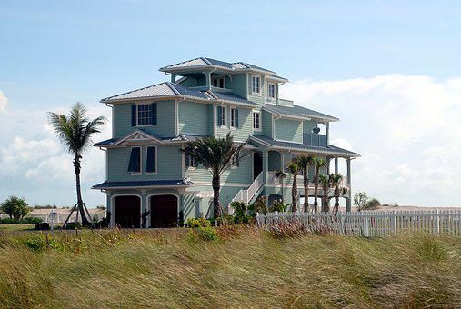 Multi Family, Beach Home, Florida, Usa, Architecture