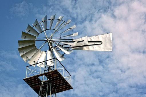 Pinwheel, Metal, Wheel, Sky, Wind Energy, Energy, Wind