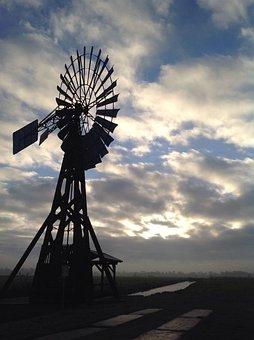 Wind Energy, Wind Power, Pinwheel, Energy, Current