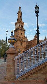 Plaza De España, Spain Square, Plaza, España, Landmark