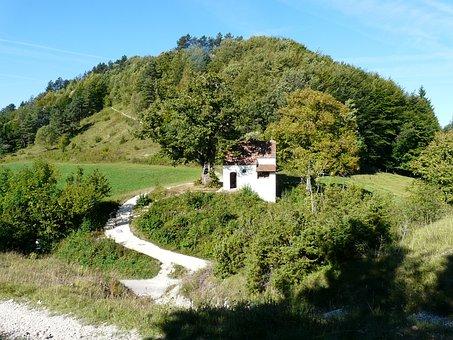 Rechbergle, Black Horn, Mountain, Tab Read Chapel