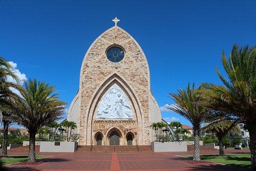 Heaven, Catholic Church, Cross, Religion, Catholic
