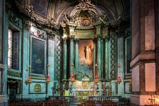 Church, Chapel, Roman Catholic, Saint-sulpice, Paris