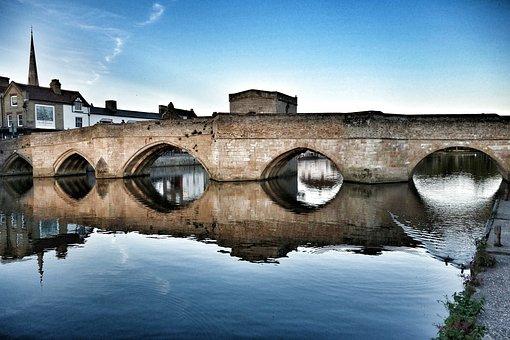 Bridge, Saint Ives, Ancient, Medieval, River