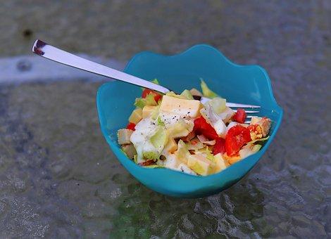 Salad, Salad Bowl, Healthy, Delicious, Slightly