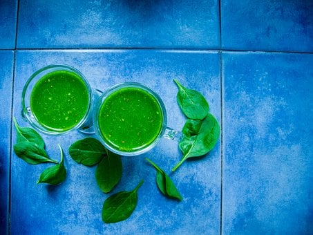 Smoothie, The Drink, Spinach, Green, Healthy