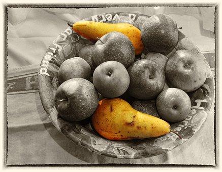 Fruits, Still Life, Fruit, Apple, Healthy, Fruit Plate
